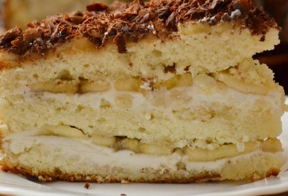 Простой банановый торт рецепт пошагово в домашних условиях