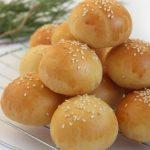 Булочки с картофельной и творожной начинками для фуршета
