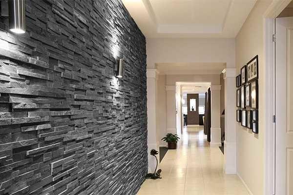 Дизайн длинного коридора + фото