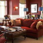 Бордовый цвет в интерьере: применение и сочетания
