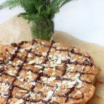 Пирог с карамельным черносливом