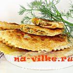 Хрустящие чебуреки – аппетитные татарские пирожки с капустой
