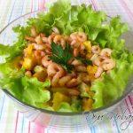 Салат с манго и креветками рецепт с фото