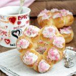 Булочки сердечки из дрожжевого теста — рецепт выпечки и фото