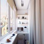 Отделка балконов и лоджий,внешняя и внутренняя — фото примеров