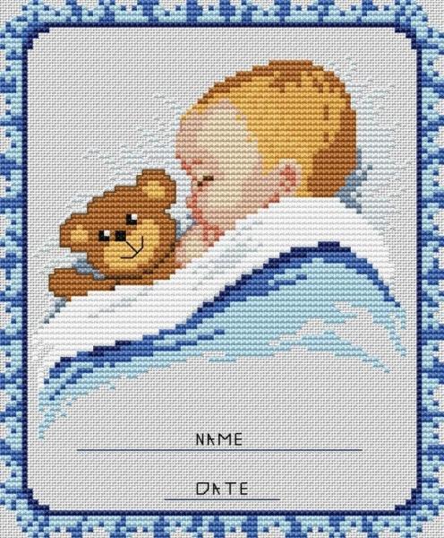 Схема вышивки бесплатно малыш фото 574