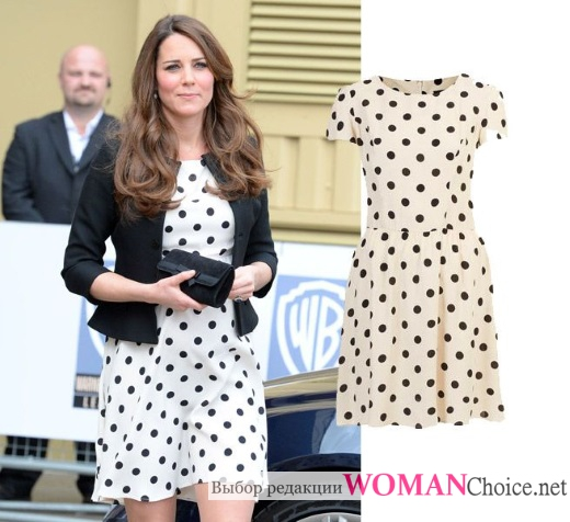 1d6656aea5c Платье в горошек  фото и советы как носить