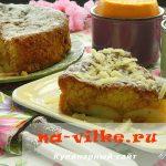 Мягкий пирог с грушами в карамели — рецепт с фото