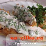 Нототения жареная в кляре под сметанным соусом – рецепт с фото