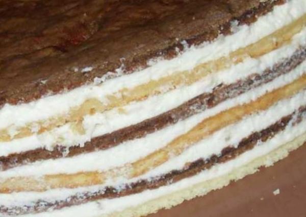 Торт «Графские развалины» пошаговый рецепт