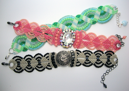 макраме браслеты схемы плетения и видео с ниток как сплести своими