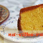 Вкусный домашний апельсиновый кекс в духовке – рецепт с фото