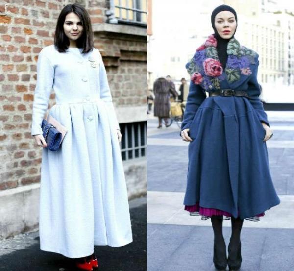 fc2037a57bea Фото модных пальто на зиму 2015 года демонстрирует еще один максималистский  тренд – удлиненные модели. Это направление верхней одежды предлагают нам  Zac ...
