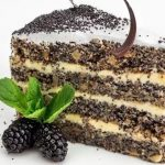 Маковый торт — Бисквит и торт с маком пошагово рецепт с фото