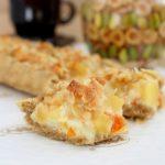 Пирог с яблоками и творогом — рецепт вкусной выпечки