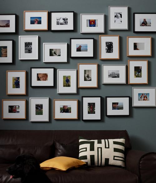 Как сделать фоторамки на стену фото 759