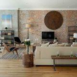 Обои кирпичная стена в интерьере — Только ремонт своими руками в квартире: фото, видео, инструкции
