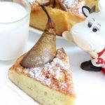 Пирог Три молока с грушами — рецепт