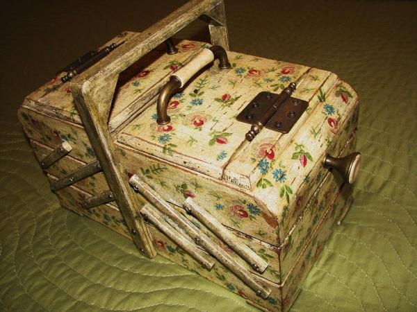 Декупаж ящиков: почтового под старину, для специй и овощей, для вина заготовка, реечный для цветов и мастер-класс 532
