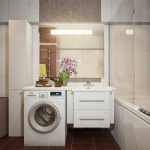 Дизайн бежево-коричневой ванны. Фото коричневой ванной комнаты 2014 модной