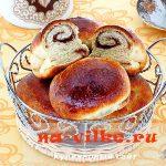 Дрожжевые пирожки с корицей в духовке – рецепт с фото
