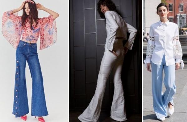 205699ae2dd Поговорка «всё новое – это хорошо забытое старое» как нельзя лучше  относится к джинсам клеш. Они одни из немногих вещей