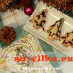 Новогодние печеньки из песочного теста — рецепт с фото