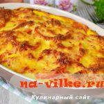Вкусная рыбная запеканка с рисом и помидорами – рецепт с фото