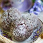 Домашнее шоколадное печенье с какао – рецепт с фото