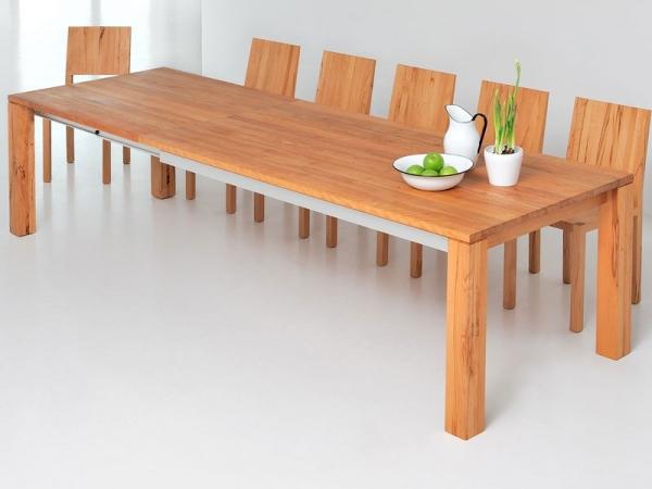 большой обеденный стол для кухни гостиной или столовой