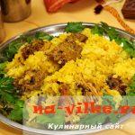 Рецепт индийского плова — бириани с курицей и приправой гарам-масала