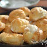 Заварные пирожные — классический рецепт с орехами