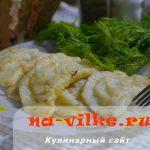 Вареники с сырой картошкой и луком – домашний рецепт с фото