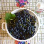 Компот из винограда на зиму, на 3 литровую банку, на 1 литровую банку