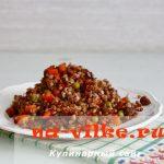Гречка с говядиной в мультиварке — рецепт приготовления с фото