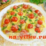 Картофельная пицца на сковороде — простой пошаговый рецепт с фото