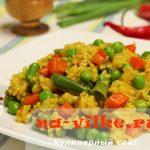 Как приготовить рис с карри и овощами