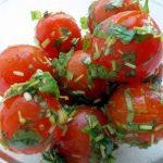 Малосольные помидоры черри быстрого приготовления с чесноком: рецепт с фото