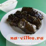 Долма постная или вегетарианская — рецепт с пошаговыми фото
