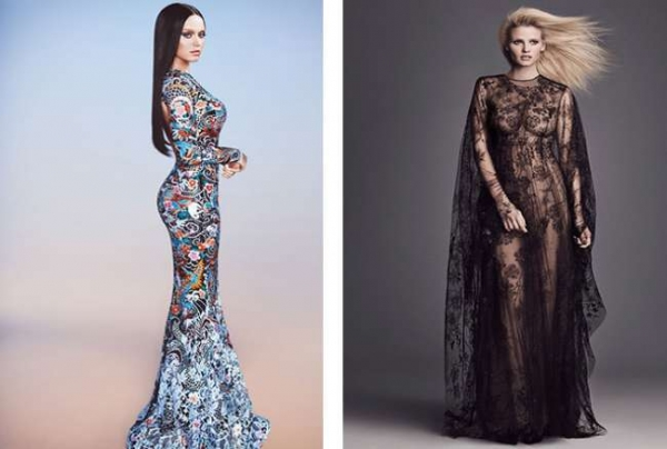 Купить вечерние платья для полных женщин в Москве в