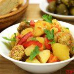 Тушеное овощное рагу с фрикадельками из фарша — пошаговый рецепт с фото