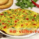 Испанская тортилья с картошкой и зеленью — рецепт с фото
