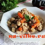 Тушеная свинина в мультиварке с овощами – рецепт с фото