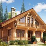 Стоит ли строить дом из клееного бруса
