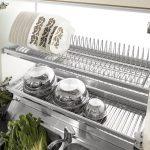 Встроенные сушки для посуды: критерии выбора конструкций