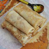 Карамельные блинчики в блиннице — рецепт приготовления
