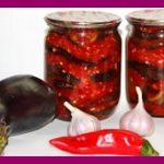 Баклажаны на зиму – лучшие рецепты заготовки баклажанов