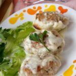 Рецепт вкусных домашних котлет из свинины с соусом Бешамель
