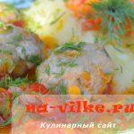 Тефтели из телятины с овощами в мультиварке – диетическое блюдо