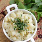 Ризотто из картофеля с сыром – рецепт с фото